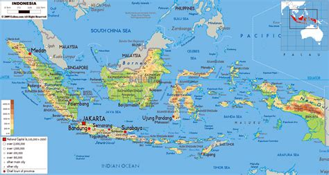 maps of maps of indonesia detailed map of indonesia in
