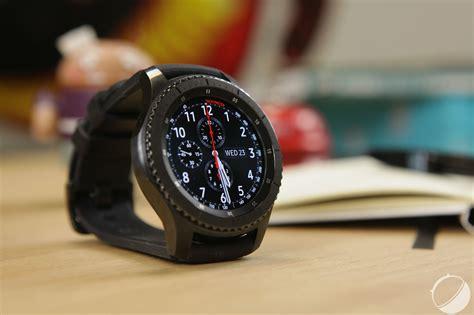 Test de la Samsung Gear S3 Frontier : la meilleure des montres connectées ?   FrAndroid