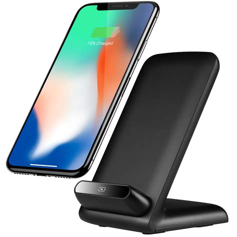 10w qi fast wireless charging stand apple iphone xs 8 plus