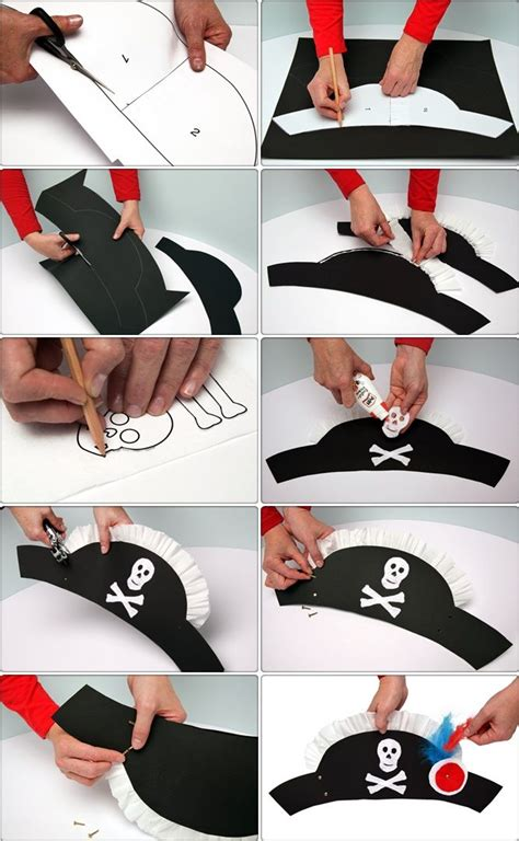 Make A Paper Pirate Hat - 25 best ideas about pirate hat crafts on
