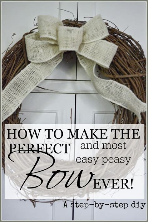how to make the perfect christmas bow how to make the and most easy peasy bow mantels hair bow and tree