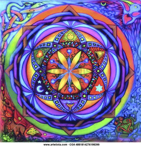 imagenes de mandalas de la abundancia mandala fluorecente florecimiento de la abundancia ricardo