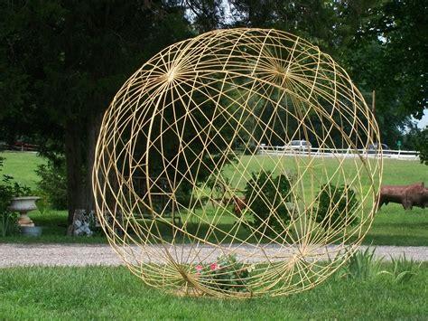 """41"""" Yard Art Garden Ball Trellis   Orb Art"""