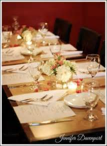 Rehearsal Dinner Table Decorations by Rehearsal Dinner Decorations Affordable Decorations