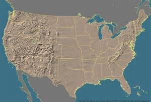 united states map landforms maps us map landforms
