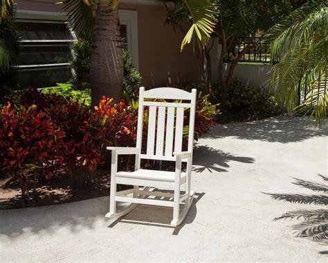 100 patio furniture rocker polywood white pati tritoo sale