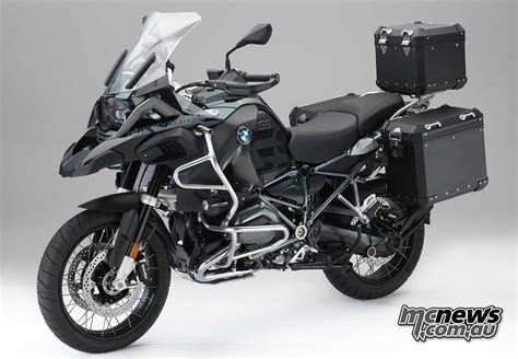 Motorrad Bmw Accessories by Edition Black Bmw Accessories Coming For R 1200 Gs