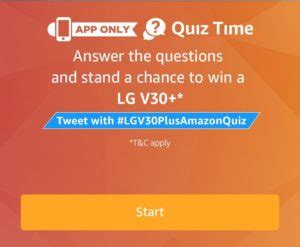 amazon quiz winner answers added amazon lg v30 quiz answer win lg v30