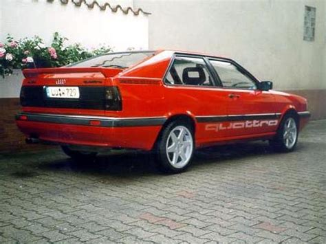 Audi Coupe Quattro Typ 85 by Audi Coupe Quattro Typ 85 Hansi