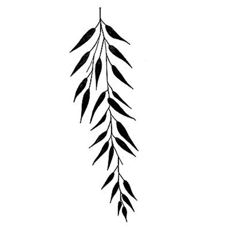 weeping willow tree silhouette clipart best