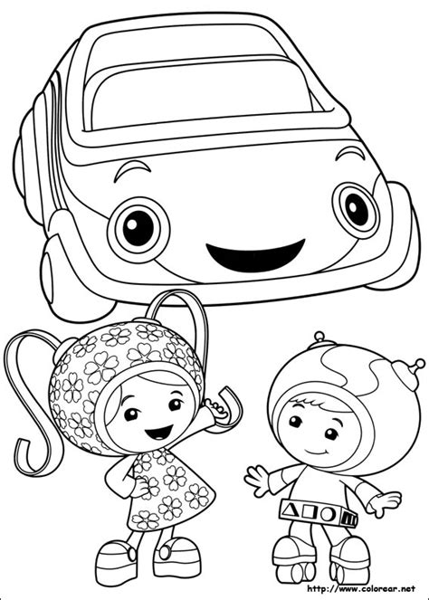 coloring pages umizoomi free coloring pages of umi