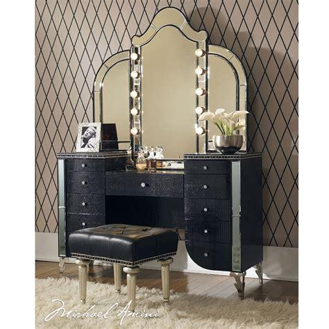 black vanity bench hollywood swank black vanity bench el dorado furniture