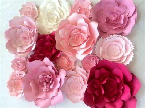 How To Make Paper Flowers For Wall - large paper flower wall large paper flower backdrop