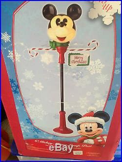 mickey mouse light post disney mickey mouse l post in box
