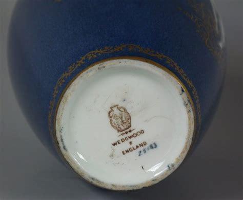 pattern maker portland wedgwood lustre vase
