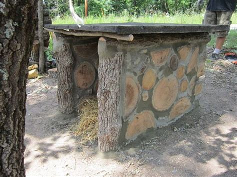 sty building his dog house cordwood newsletter fall 2013 part 1 cordwood construction