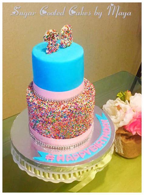 colorful birthday cakes custom birthday cake chefnessbakery