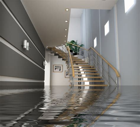 pumping water out of your basement after a flood