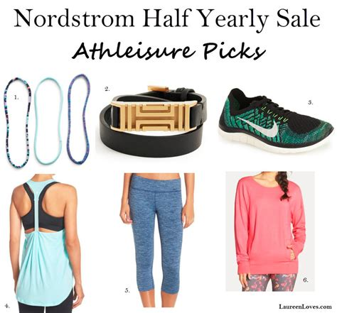 Nordstroms Half Yearly Sale by Athleisure Laureen