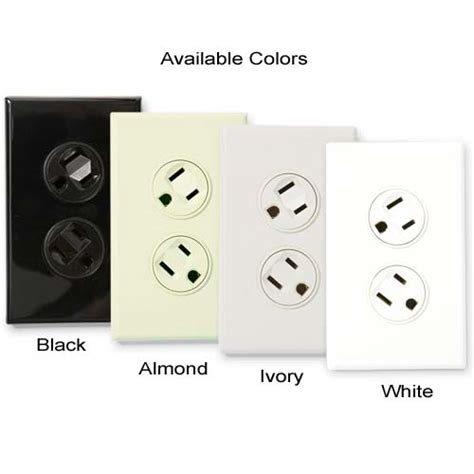 electrical outlet wire colors 360 electrical rotating duplex receptacles