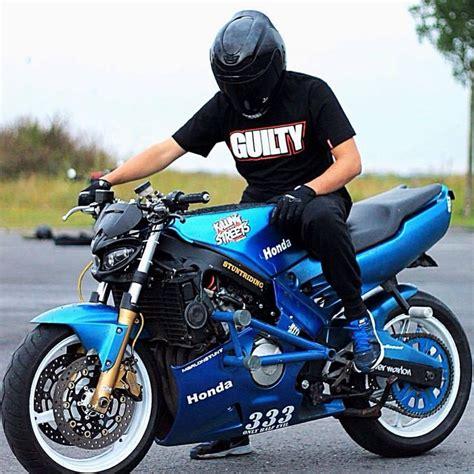 honda bike cbr 600 1996 honda cbr 600 f3 blue stunt stunt bike