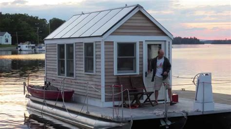 tiny house boat a tiny houseboat valentine youtube