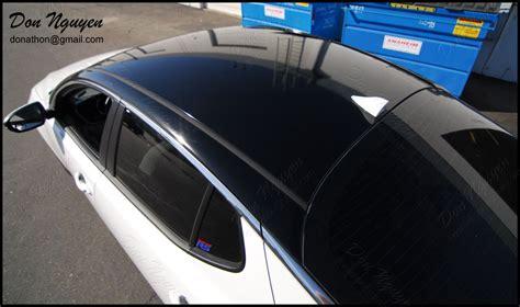 don nguyen gloss black vinyl roof  side body pillars