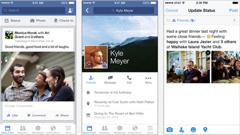 facebook themes for iphone facebook tells its ios users to continue expecting app