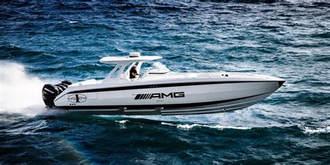 cigarette boat get its name cigarette racing team 42 huntress is the mercedes benz g63