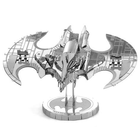 S Batwing metal earth diy 3d metal model kits metal earth batman batwing