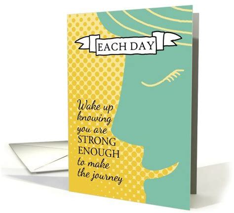 strong enough inspiration for cancer patients card