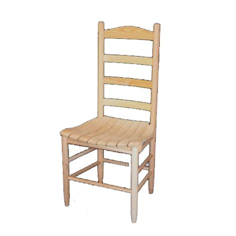 unfinished wooden ladder back chairs county line ladderback chair chairs