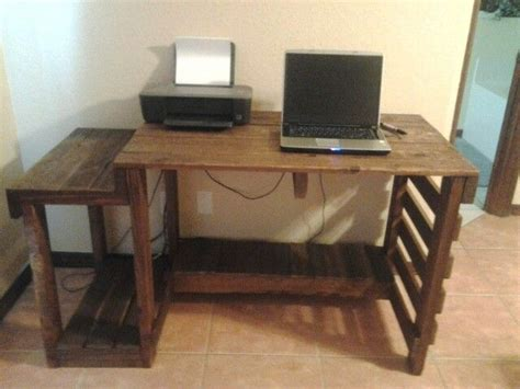 Computer Desk Diy Woodwork Diy Computer Desk Plans Pdf Plans