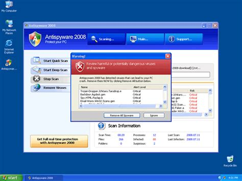 manual removal of harmful files antispyware remove antispyware 2008 removal guide