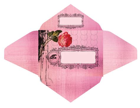 printable envelope with design the ladies of design free envelope templates from papaya