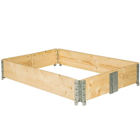 Raised Bed Frame Raised Vegetable Garden Bed Frame Foldable Planter Kit
