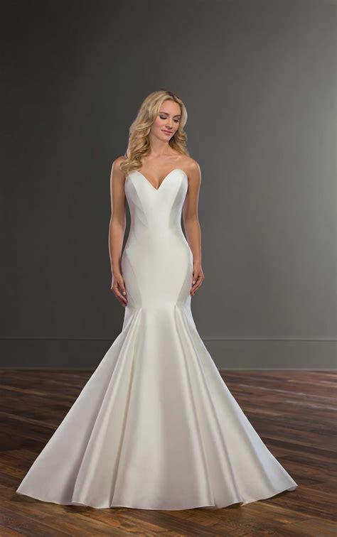 Silk Gown Wedding by Simple Silk Wedding Gown Martina Liana Wedding Dresses