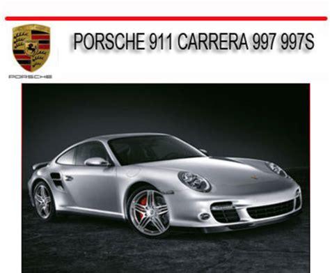 service and repair manuals 2011 porsche 911 engine control porsche 911 carrera 997 997s 2005 2011 repair service manual down