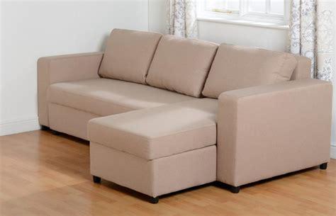Fabric Corner Sofa Bed Fabric Corner Sofa Bed Light Brown