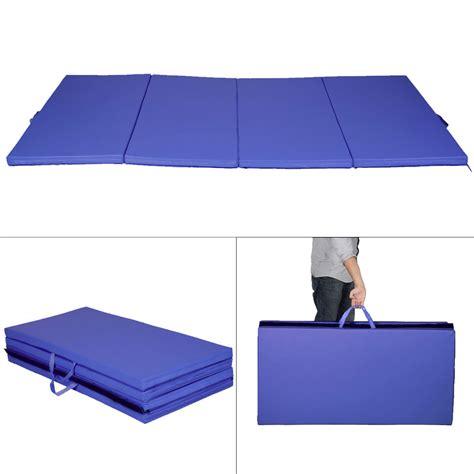 Thick Tumbling Mats by New Blue 4 X8 X2 Quot Gymnastics Mat Thick Folding Panel