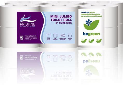 Paseo Tissue Smart 50 Sheets 2ply 2ply mini jumbo toilet roll