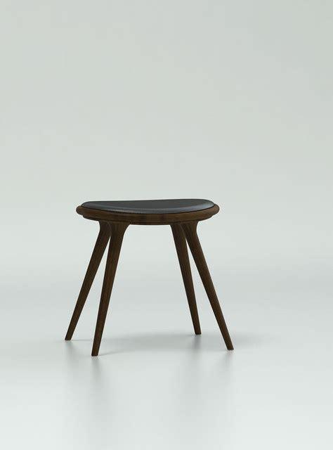 dark oak bar stools mater low stool dark stained white oak modern bar