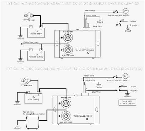 wiring diagram alternator 12 volt system