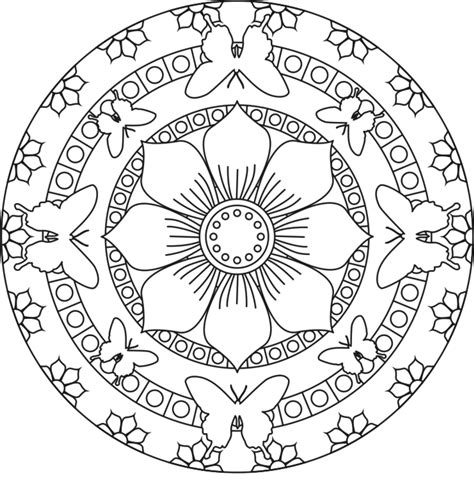 mandala coloring pages pinterest mandala coloring pages for kids to download and print for