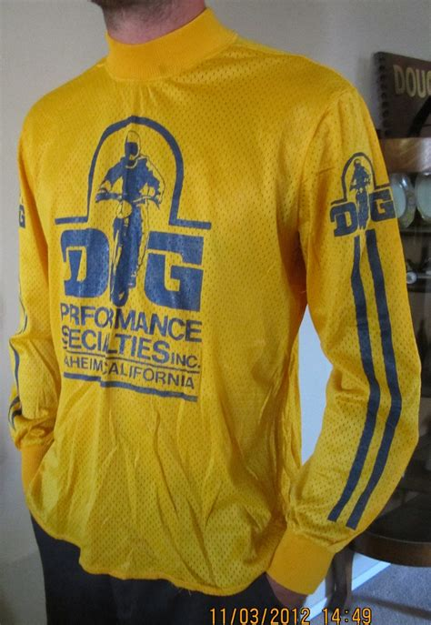 vintage motocross jersey another vintage dg jersey for you old guys moto related