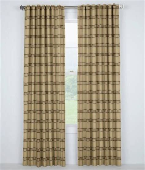 greenwich curtains greenwich plaid rod pocket with back tab curtains 129 95