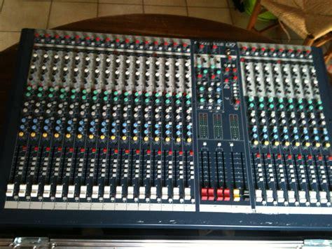 Audio Mixer Soundcraft Lx7ii soundcraft lx7ii 24 image 464646 audiofanzine
