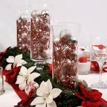 Cheap Plastic Vases For Centerpieces Bulk Christmas Craft Idea Christmas Centerpiece At
