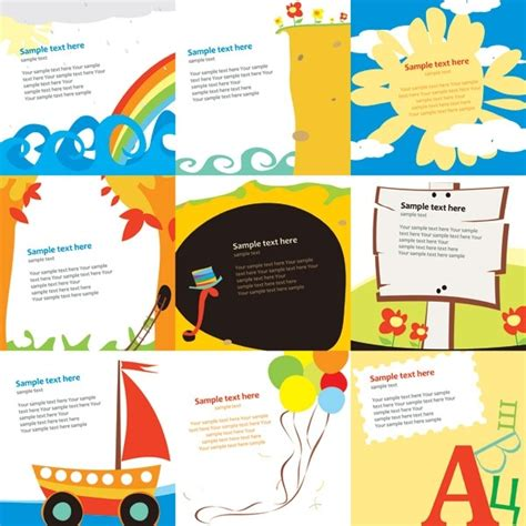 Children S S Card Template by Free Greeting Card Template Free Vector