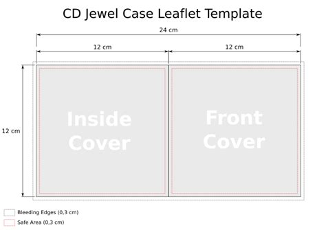 cd template jewel case leaflet heath park group 1